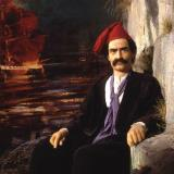 Konstantinos Kanaris, a hero of the 1821 Greek War of Independence