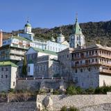 The Russian Monastery of Agios Panteleimon at Mount Athos