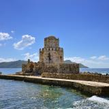 Bourtzi, at south of the Methoni castle