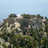 The 15th century castle of Monolithos