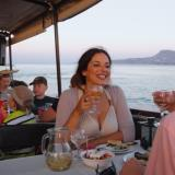 Evening cruise in Souda bay