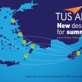 Summer 2017 destinations - TUS Air
