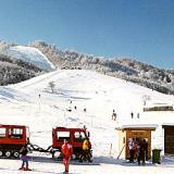 Profitis Ilias, the ski centre in operation